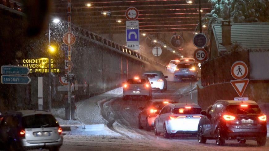 L'épisode neigeux de mardi a paralysé la région stéphanoise.