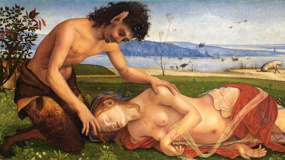 La Mort de Procris (détail), par Piero di Cosimo, v. 1486-1510 / Musicopolis (DP)