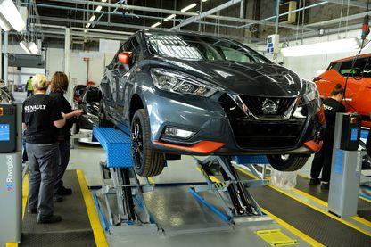 Usine Renault de Flins où la Micra est fabriquée.
