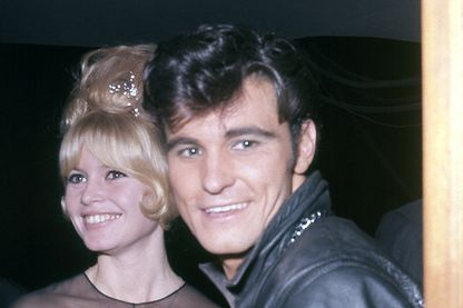 Vince Taylor avec Brigitte Bardot