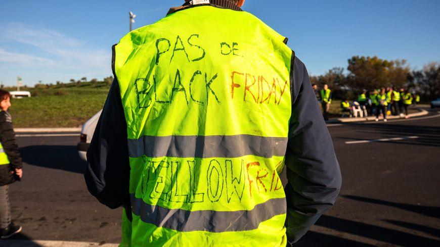"Les actions des ""gilets jaunes"" ont repris samedi 24 novembre (illustration)"