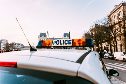 Sirène de police en plein Paris