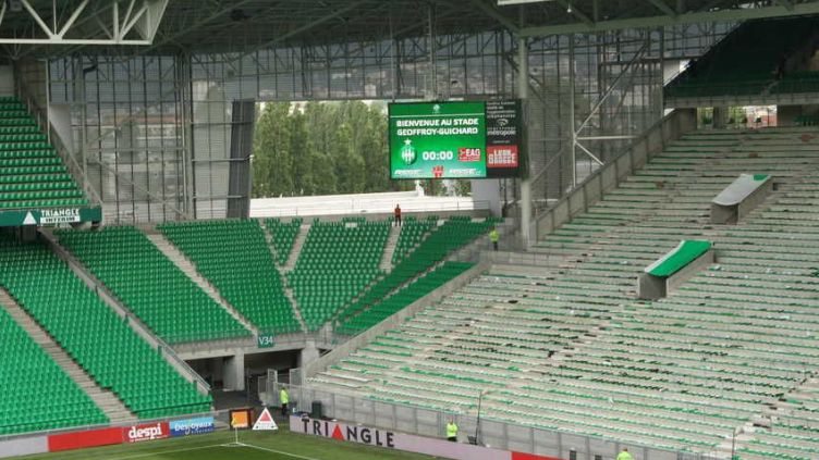 Le stade Geoffroy Guichard (illustration)