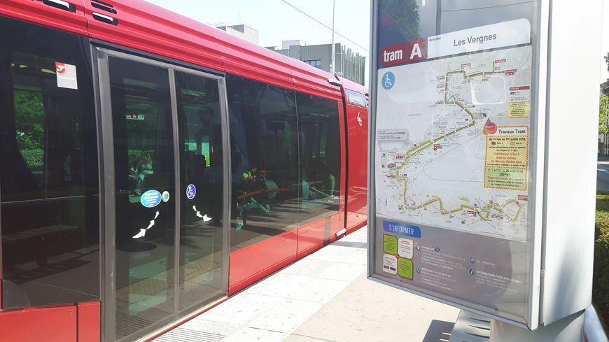 Le tramway ne dessert plus les trois dernières stations de la Ligne A au nord de Clermont