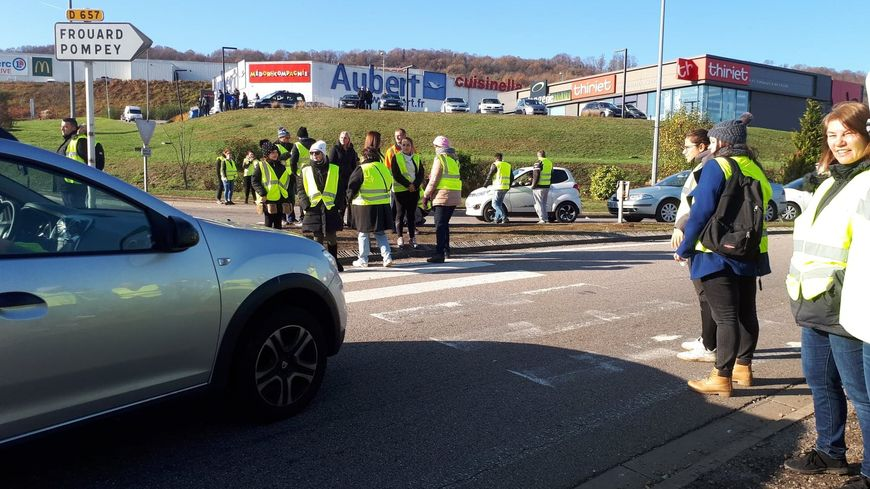 Gilets jaunes : 3e journée de mobilisation, une trentaine de manifestations en Meurthe-et-Moselle et dans les Vosges