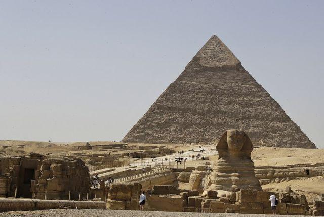 Les pyramides d'Egypte n'ont pas fini de révéler tous leurs secrets