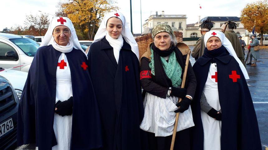 Infirmières italiennes de Carnia (nord est de l'Italie).