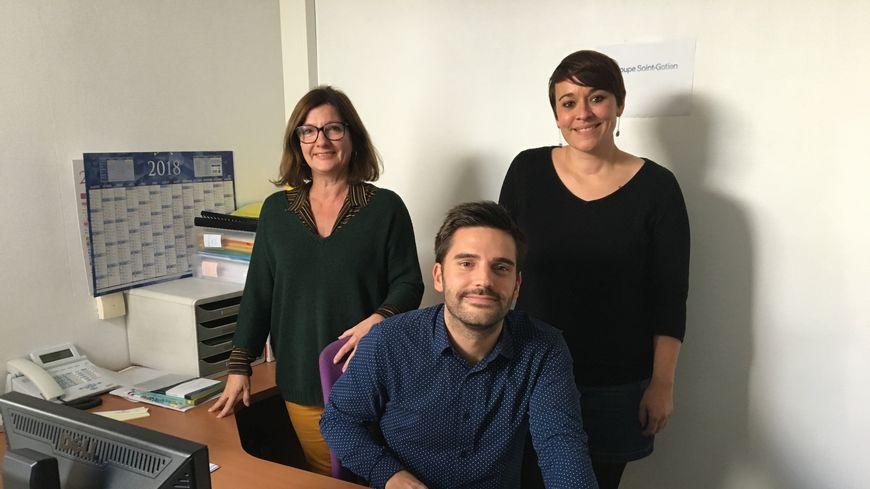 L'équipe RH de la clinique Tivoli Ducos