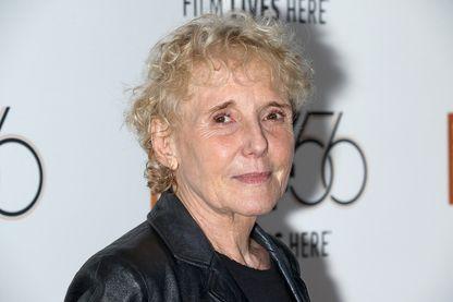 La réalisatrice Claire Denis, le 2 octobre 2018 à New York, pendant le 56ème Festival du film de New York - 'High Life' .