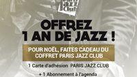 Pour Noël, offrez un an de Jazz avec le coffret Paris Jazz Club !