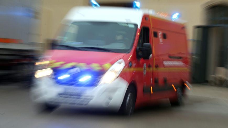 Les pompiers n'ont pas pu sauver la quinquagénaire percutée par le tram.