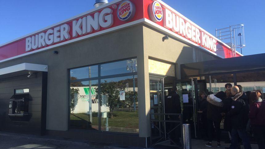 Carte Burger King Perigueux.Dordogne Le Burger King De Trelissac Cambriole