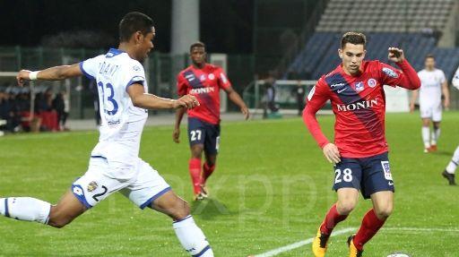 Maxime Barthelmé (N°28) espère une nouvelle fois être décisif face à Sochaux
