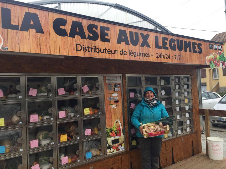 Le distributeur de produits frais et locaux a ouvert ses portes au mois de juin à Colmar