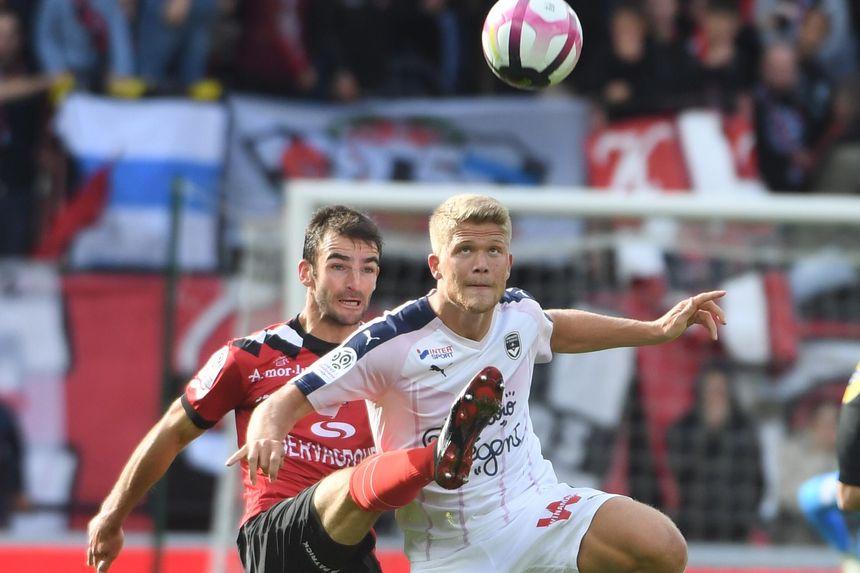 Andreas Cornelius, ici contre Guingamp, a ouvert son compteur en Ligue 1.