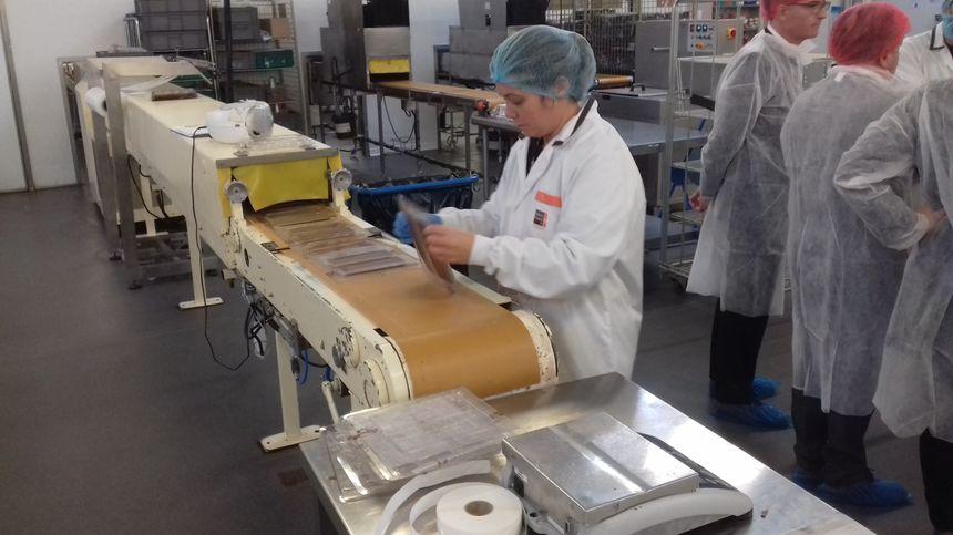 600 tonnes de chocolat par an sont travaillées dans l'usine Réauté Chocolat