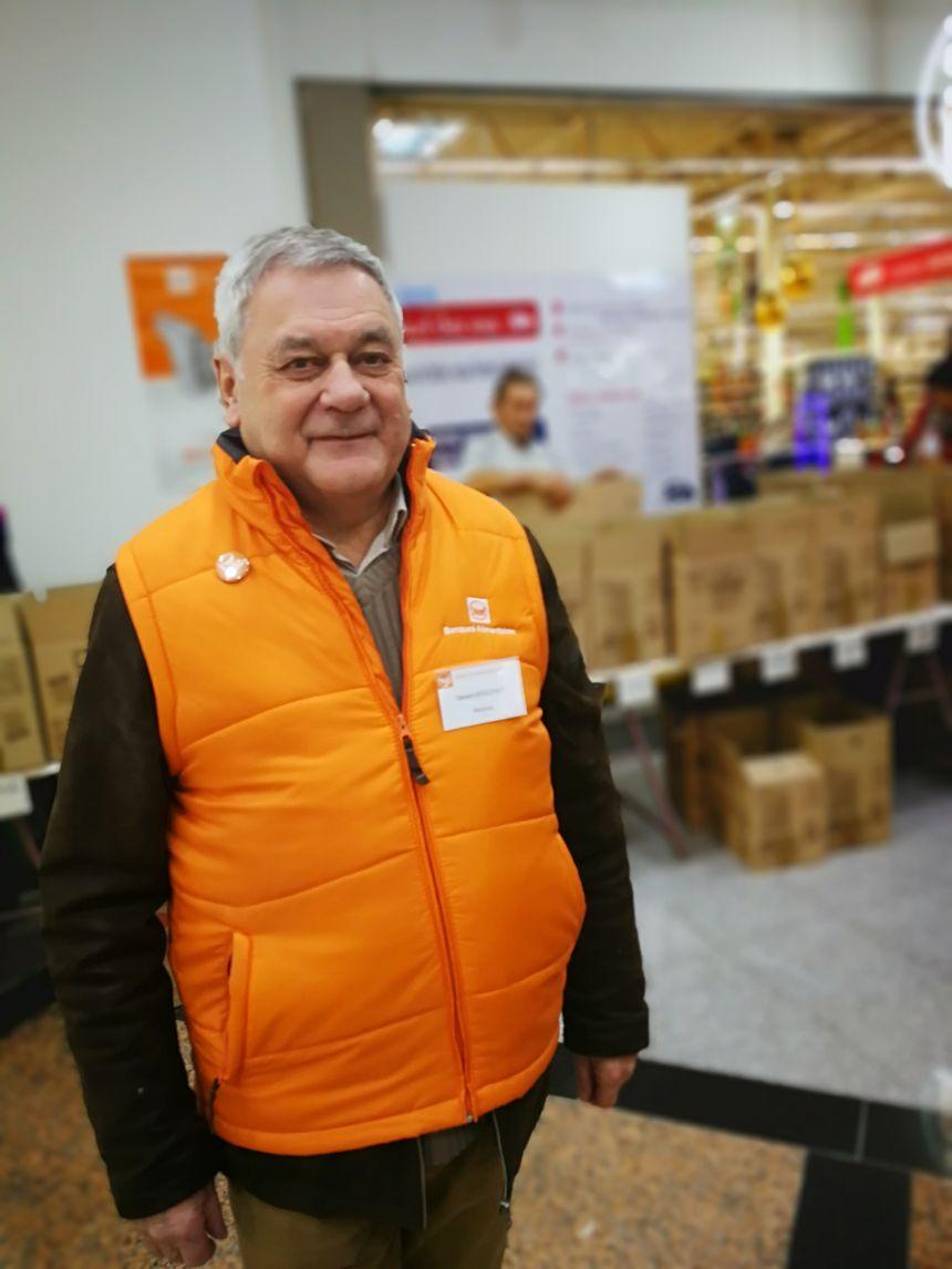 Gérard Bouchot président de la Banque Alimentaire de Bourgogne