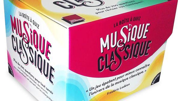 Révisez vos classiques avec France Musique et gagnez des cadeaux comme la Boîte à Quiz !