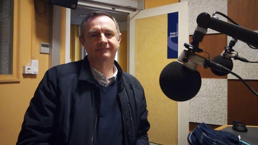 Gilbert Mignot, responsable de la collecte à la Banque alimentaire du Finistère