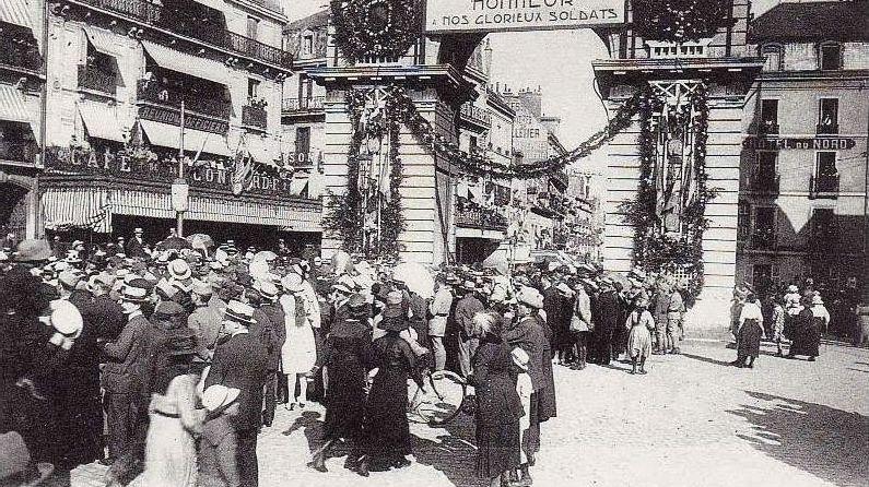 Les américains à Dijon pendant la 1ere guerre mondiale