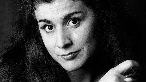 Portrait de Cecilia Bartoli en 1994