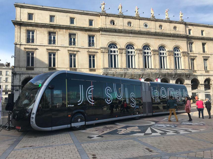 Le Tram'bus, 100% électrique, circulera sur la ligne 1 de Chronoplus en septembre 2019
