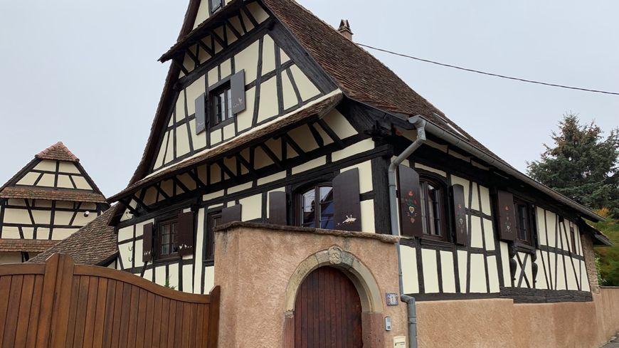 Kuttolsheim, colombages il y a
