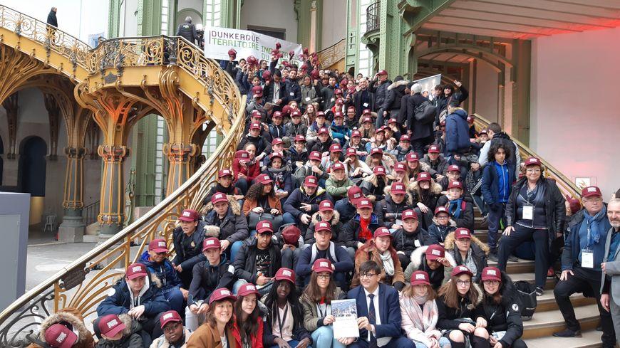 130 jeunes dunkerquois ont pu découvrir l'Usine d'aujourd'hui et de demain.