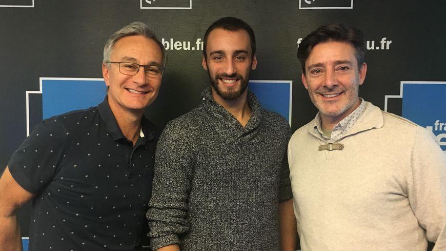 Thibault Manchon et Bastien Beaussart
