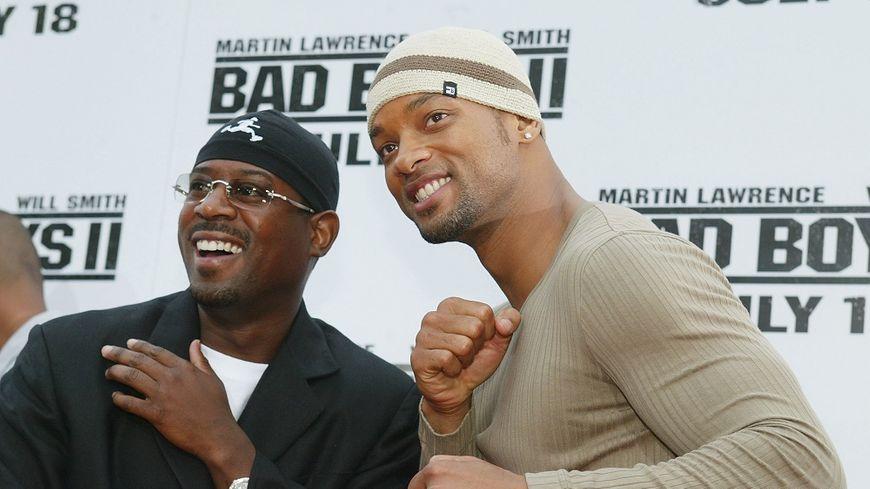 Martin Lawrence et Will Smith, lors de la promotion de Bad Boys II, en 2003.