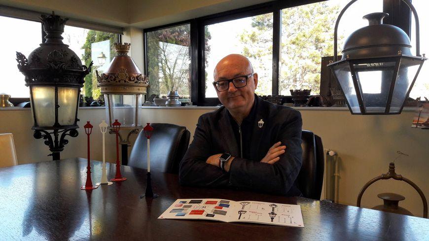 Antoine Bonneville, président de Lenzi depuis 2005 a totalement relancé la vénérable entreprise