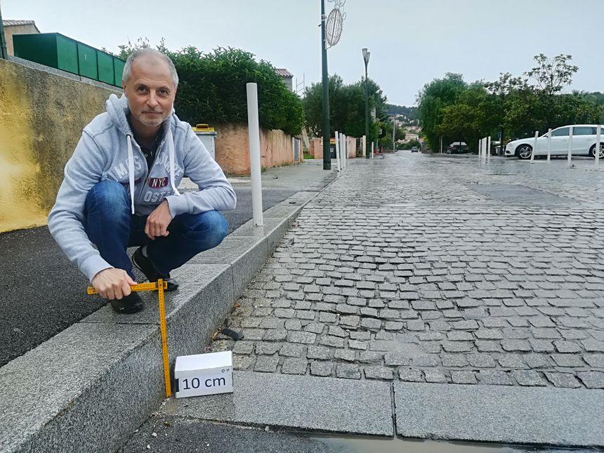Thierry Modolo traque les ralentisseurs illégaux
