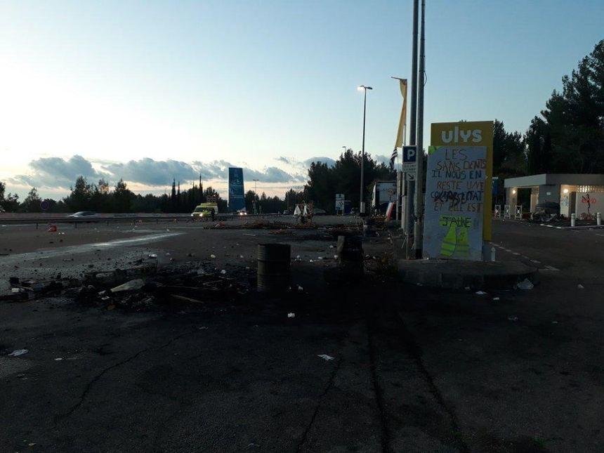 A La Ciotat, un incendie a ravagé plusieurs installations