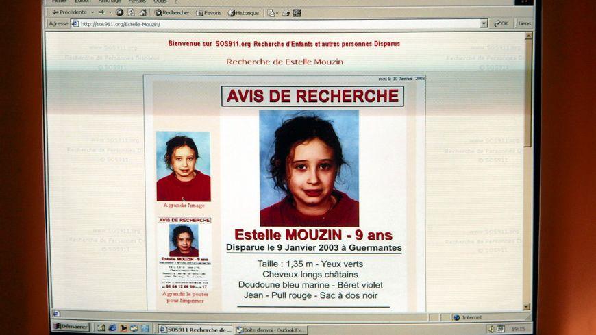 Disparition d'Estelle Mouzin en janvier 2003
