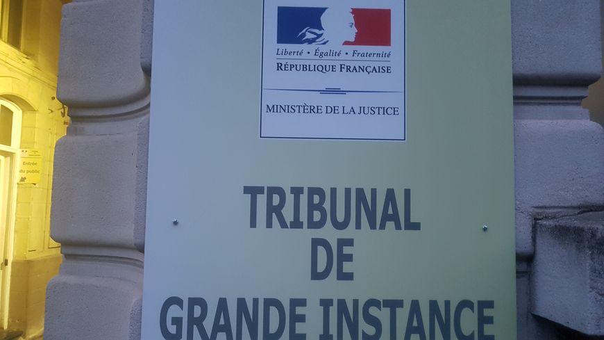 L'entrée du tribunal de grande instance de Valenciennes