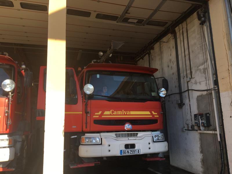 Pompiers aéroport perpignan
