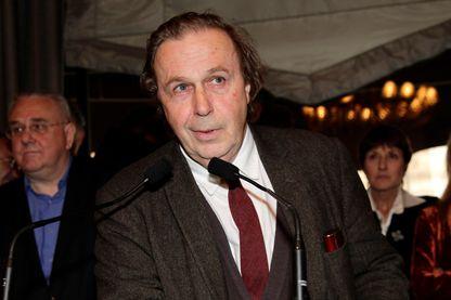 Jean-Christophe Bailly écrivain, poète et dramaturge le 3 novembre 2011 à la remise du Prix littéraire Décembre.