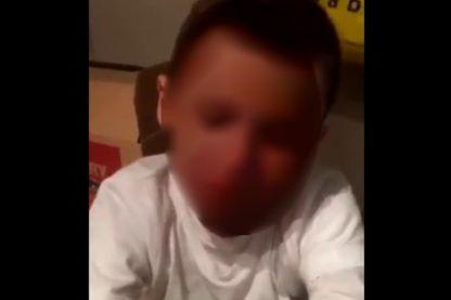 Petit garçon, capture d'écran
