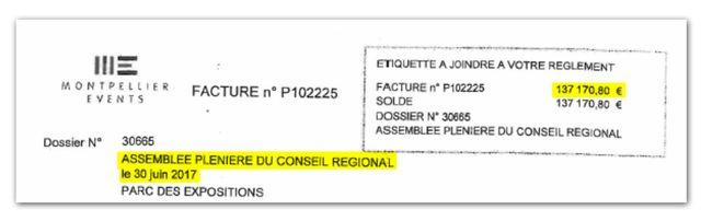 Document rendu public par les élus de l'opposition de la région Occitanie.