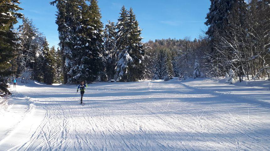 40 cm de neige sont tombés ces derniers jours.