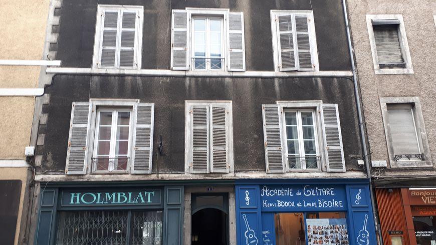 L'immeuble du 5 rue Bordenave d'Abère