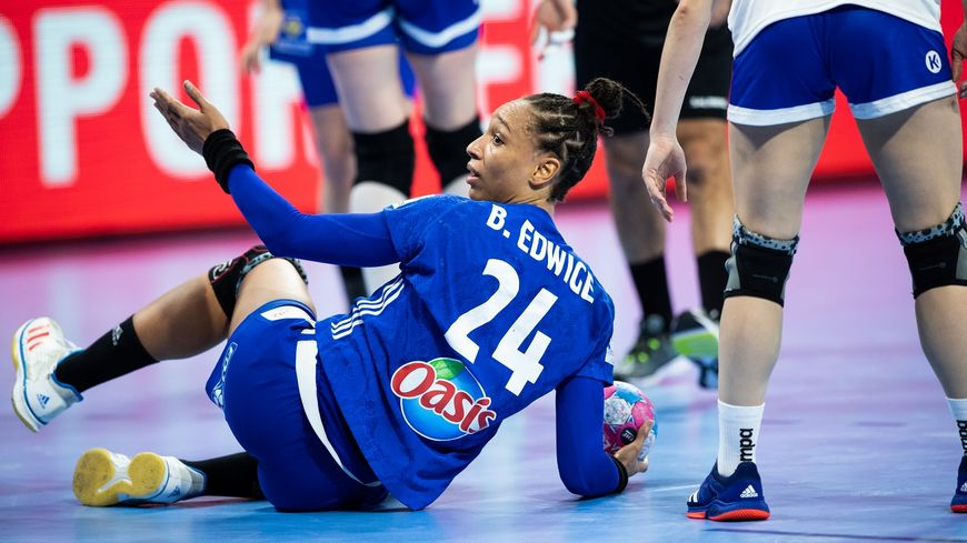 La handballeuse messine Beatrice Edwige.