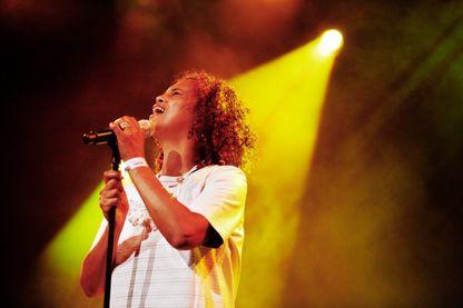 Neneh Cherry sur scène au festival North Sea Jazz Festival le 13 juillet 2014 à Rotterdam, aux Pays-Bas.