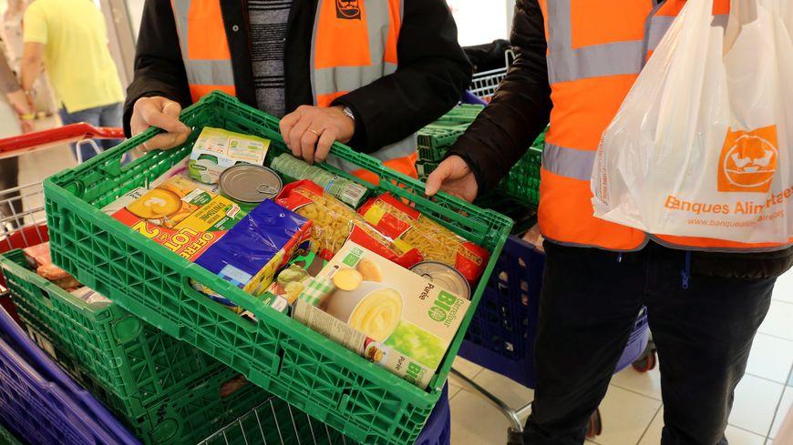 Une collecte de la Banque alimentaire en Lorraine (illustration)