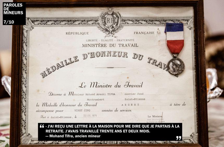 Mohand Tifra a terminé la mine le 30 mars 1979.