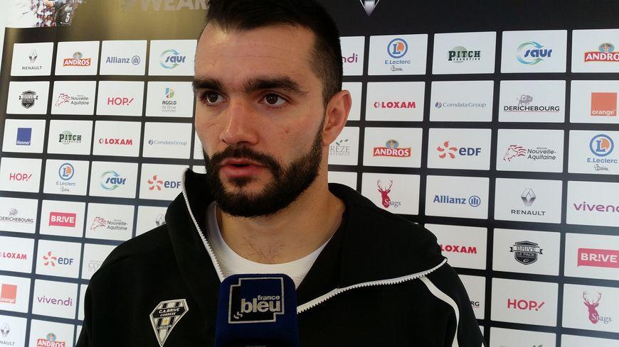 Thomas Laranjeira sera titulaire pour la 13e fois en 13 matchs et capitaine de Brive à Mont-de-Marsan