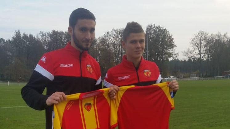 Victor Ellisalt et Aloïs Confais, les deux nouvelles recrues du Mans FC