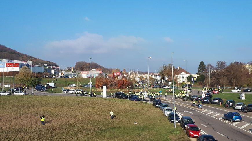 Mobilisation des gilets jaunes : des débordements en Meurthe-et-Moselle