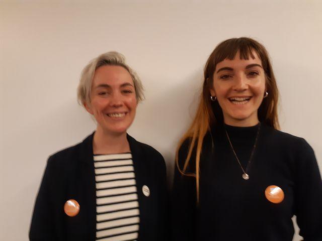 Mathilde Bignon et Audrey Venant fondatrices de Désirée Auteur