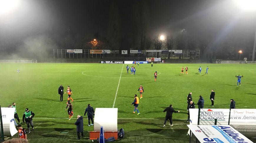 Le stade Armand Chouffet n'a pas porté chance aux Lavallois